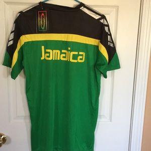 9f7e4bc4c Colours of Jamaica Sport Wear Shirts - Men s NWT Jamaica soccer short  sleeve T-shirt